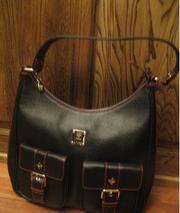 Элитная черная сумка Mcm